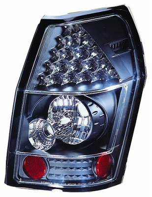 Headlights & Tail Lights - Led Tail Lights - In Pro Carwear - Dodge Magnum IPCW Taillights - LED - 1 Pair - LEDT-417B2