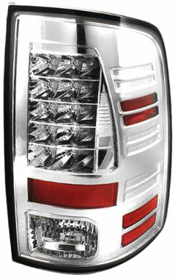 Headlights & Tail Lights - Led Tail Lights - In Pro Carwear - Dodge Ram In Pro Carwear LED Taillights - LEDT-423C2
