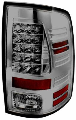 Headlights & Tail Lights - Led Tail Lights - In Pro Carwear - Dodge Ram In Pro Carwear LED Taillights - LEDT-423S2