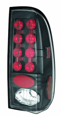Headlights & Tail Lights - LED Tail Lights - In Pro Carwear - Ford Superduty IPCW Taillights - LED - 1 Pair - LEDT-501CB