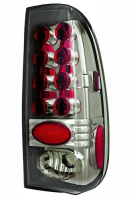 Headlights & Tail Lights - LED Tail Lights - In Pro Carwear - Ford F250 IPCW Taillights - LED - 1 Pair - LEDT-501CS