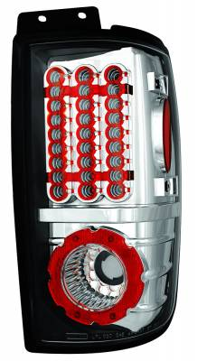 Headlights & Tail Lights - Led Tail Lights - In Pro Carwear - Lincoln Navigator IPCW Taillights - LED - 1 Pair - LEDT-501EC