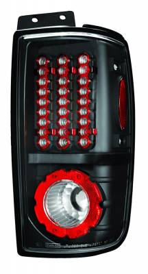 Headlights & Tail Lights - Led Tail Lights - In Pro Carwear - Ford Expedition IPCW Taillights - LED - 1 Pair - LEDT-501ECB