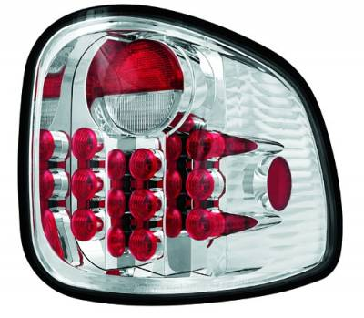 Headlights & Tail Lights - LED Tail Lights - In Pro Carwear - Ford F250 IPCW Taillights - LED - 1 Pair - LEDT-501FC