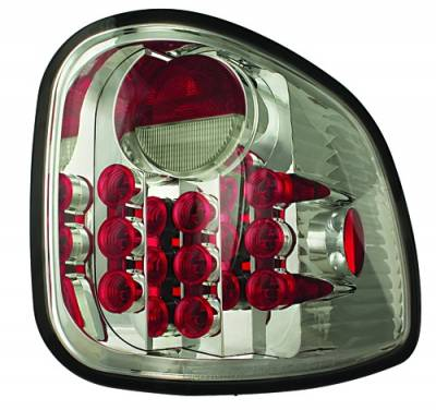 Headlights & Tail Lights - LED Tail Lights - In Pro Carwear - Ford F250 IPCW Taillights - LED - 1 Pair - LEDT-501FCS