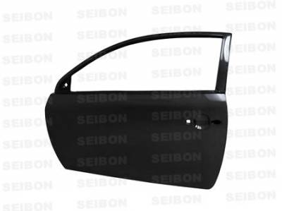 TC - Doors - Seibon - Scion tC Seibon Carbon Fiber Door - DD0506SCNTC