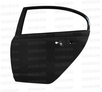 Body Kits - OEM Doors - Seibon - Honda Civic 4DR Seibon Carbon Fiber Door - Rear - DD0607HDCV4D-R