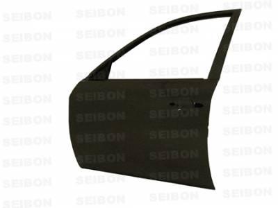 Impreza - Doors - Seibon - Subaru Impreza Seibon Carbon Fiber Door - Front - DD0809SBIMP-F