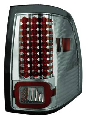 Headlights & Tail Lights - Led Tail Lights - In Pro Carwear - Ford Expedition IPCW Taillights - LED - 1 Pair - LEDT-517CS
