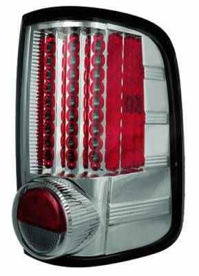 Headlights & Tail Lights - LED Tail Lights - In Pro Carwear - Ford F250 IPCW Taillights - LED - Gen 1 - 1 Pair - LEDT-538CS