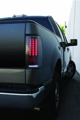 Headlights & Tail Lights - LED Tail Lights - In Pro Carwear - Ford F250 IPCW Taillights - LED - Gen 2 with LED Reverse Light - 1 Pair - LEDT-560CB