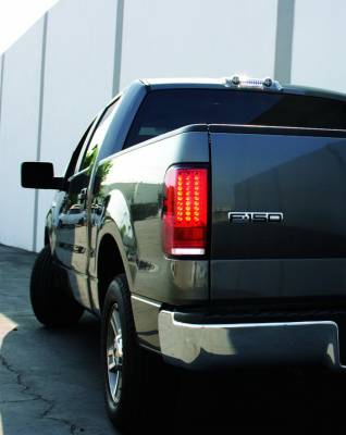 Headlights & Tail Lights - LED Tail Lights - In Pro Carwear - Ford F250 IPCW Taillights - LED - Gen 2 with LED Reverse Light - 1 Pair - LEDT-560CR