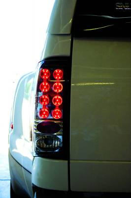 Headlights & Tail Lights - LED Tail Lights - In Pro Carwear - Ford Superduty IPCW Taillights - LED - 1 Pair - LEDT-561C