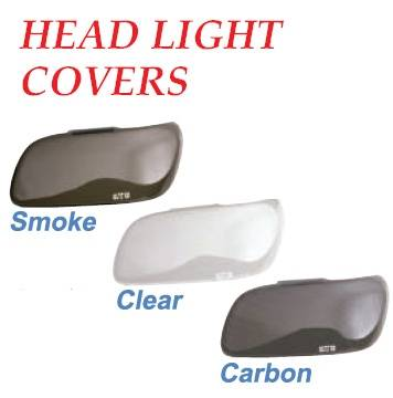 Headlights & Tail Lights - Headlight Covers - GT Styling - Mitsubishi Montero GT Styling Headlight Covers