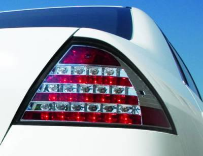 Headlights & Tail Lights - Led Tail Lights - In Pro Carwear - Honda Accord 4DR IPCW Taillights - LED - 1 Pair - LEDT-715C