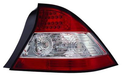Headlights & Tail Lights - Led Tail Lights - In Pro Carwear - Honda Civic 2DR IPCW Taillights - LED - 1 Pair - LEDT-737R2