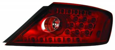 Headlights & Tail Lights - Led Tail Lights - In Pro Carwear - Honda Civic 2DR IPCW Taillights - LED - 1 Pair - LEDT-746CR
