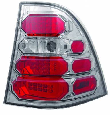 Headlights & Tail Lights - Led Tail Lights - In Pro Carwear - Mercedes-Benz ML IPCW Taillights - LED - 1 Pair - LEDT-8001CS