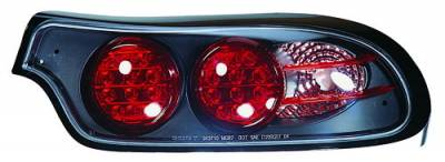 Headlights & Tail Lights - LED Tail Lights - In Pro Carwear - Mazda RX-7 IPCW Taillights - LED - Outer - Outer - 2PC - LEDT-805B2