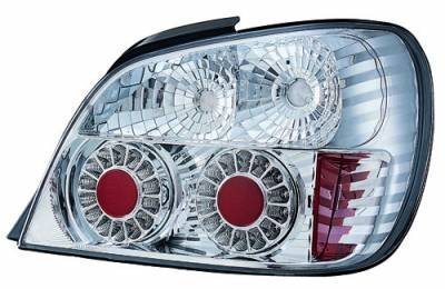 Headlights & Tail Lights - LED Tail Lights - In Pro Carwear - Subaru WRX IPCW Taillights - LED - Outer - 2PC - LEDT-850C2