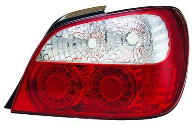 Headlights & Tail Lights - LED Tail Lights - In Pro Carwear - Subaru WRX IPCW Taillights - LED - Outer - 2PC - LEDT-850R2