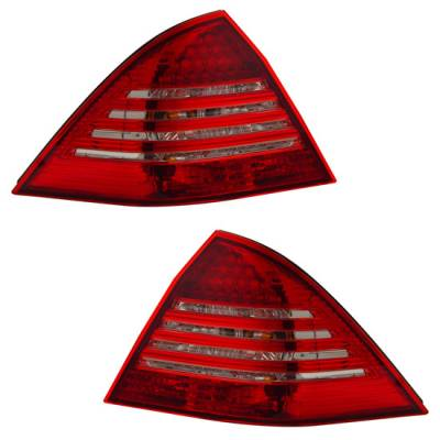 Headlights & Tail Lights - Led Tail Lights - MotorBlvd - Mercedes Tail Lights