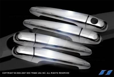 Suv Truck Accessories - Chrome Billet Door Handles - SES Trim - Toyota 4Runner SES Trim ABS Chrome Door Handles - DH106-4