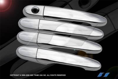 Impala - Body Kit Accessories - SES Trim - Chevrolet Impala SES Trim ABS Chrome Door Handles - DH124