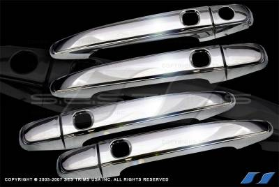 Avalon - Body Kit Accessories - SES Trim - Toyota Avalon SES Trim ABS Chrome Door Handles - with Smart Key - DH126