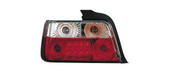 Headlights & Tail Lights - Led Tail Lights - Matrix - Red and Clear LED Taillights - MTX-09-228-LR
