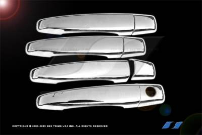 CTS - Body Kit Accessories - SES Trim - Cadillac CTS SES Trim ABS Chrome Door Handles - DH130