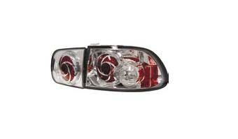 Matrix - Chrome LED Taillights - MTX-09-2MTX-09-L