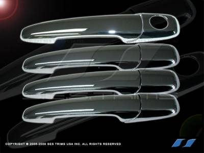 Fusion - Body Kit Accessories - SES Trim - Ford Fusion SES Trim ABS Chrome Door Handles - DH147