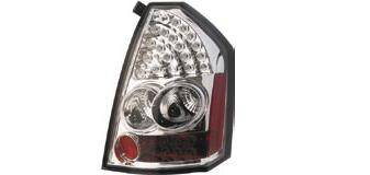 Headlights & Tail Lights - Led Tail Lights - Matrix - Chrome LED Taillights - MTX-09-4051-L