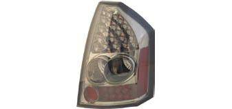 Headlights & Tail Lights - Led Tail Lights - Matrix - LED Taillights with Smoke Housing - MTX-09-4051-LS