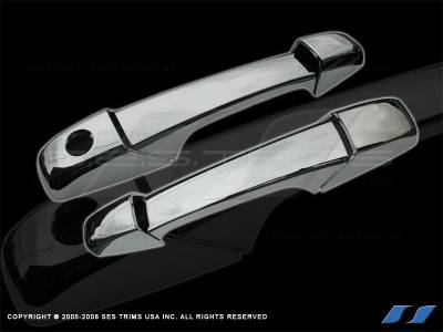SES Trim - Chevrolet Avalanche SES Trim ABS Chrome Door Handles - DH153