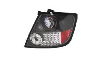 Headlights & Tail Lights - Led Tail Lights - Matrix - Black LED Euro Taillights - MTX-09-4055-LB
