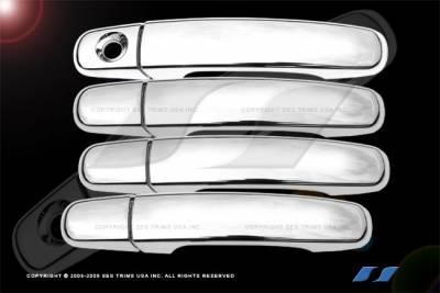 Malibu - Body Kit Accessories - SES Trim - Chevrolet Malibu SES Trim ABS Chrome Door Handles - DH156