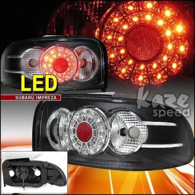 Headlights & Tail Lights - Led Tail Lights - Kaza - Impreza LED Tail