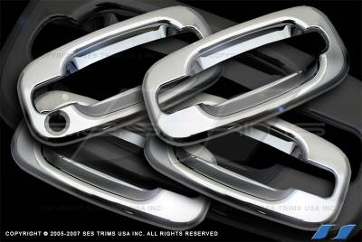 SES Trim - Cadillac Escalade SES Trim ABS Chrome Door Handles - DH508-4