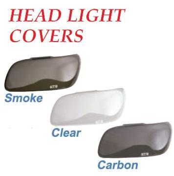 Headlights & Tail Lights - Headlight Covers - GT Styling - Jeep Wrangler GT Styling Headlight Covers