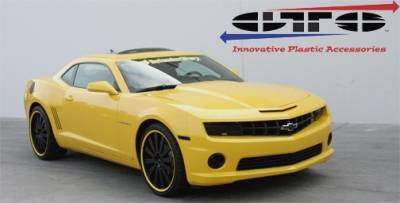 Headlights & Tail Lights - Headlight Covers - GT Styling - Chevrolet Camaro GT Styling Headlight Covers - Pair - GT0280