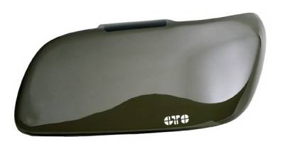 Headlights & Tail Lights - Headlight Covers - GT Styling - Ford Mustang GT Styling Driving Light Cover - Smoke - GT041FS