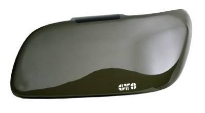 Headlights & Tail Lights - Headlight Covers - GT Styling - Pontiac Firebird GT Styling Driving Light Cover - Smoke - GT0691S
