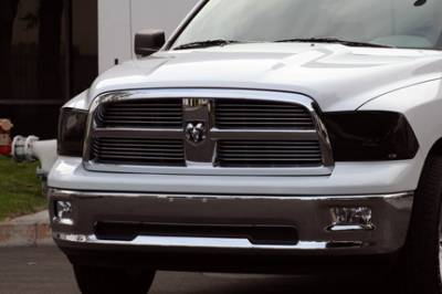Headlights & Tail Lights - Headlight Covers - GT Styling - Dodge Ram GT Styling Headlight Cover - Pair