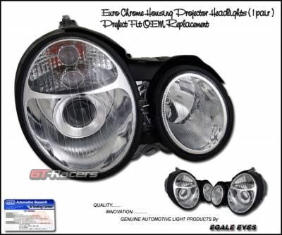 Headlights & Tail Lights - Headlights - G2 - Chrome Euro Pro G2