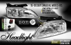 Headlights & Tail Lights - Headlights - Depo - Euro Clear Headlights