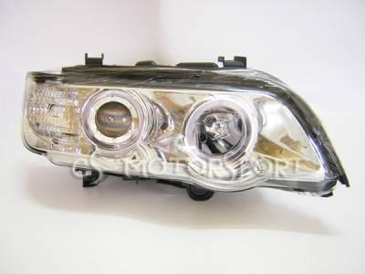 EuroM - X5 Euro Chrome Halo Headlights