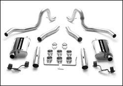 Exhaust - MagnaFlow - MagnaFlow - Magnaflow Cat-Back Exhaust System - 15630