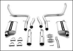 Exhaust - MagnaFlow - MagnaFlow - Magnaflow Cat-Back Exhaust System - 15644